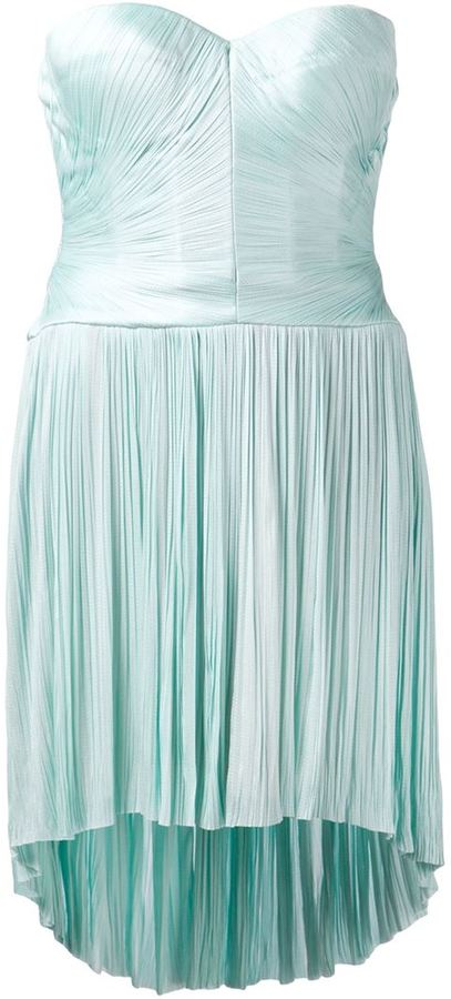 ec54ebc89 Maria Lucia Hohan Pleated Skirt Strapless Dress, $1,599 | farfetch ...