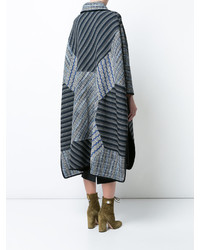 Missoni Patchwork Oversized Cape Coat