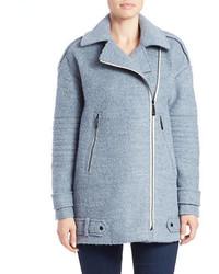 Asymmetrical pea coat medium 339650