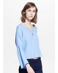 Flared sleeve blouse medium 534108