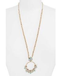 Marchesa Long Pendant Necklace
