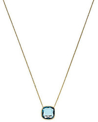 Michael Kors Michl Kors Single Stone Pendant Necklace