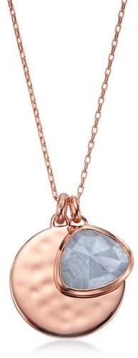 Monica vinader siren semiprecious stone charm pendant necklace monica vinader siren semiprecious stone charm pendant necklace aloadofball Gallery