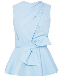 Light blue peplum top original 3996074