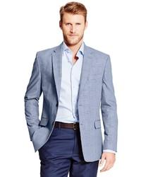 Men's Light Blue Blazers by Tommy Hilfiger   Men's Fashion