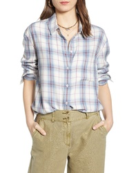 Treasure & Bond Lightweight Boyfriend Shirt