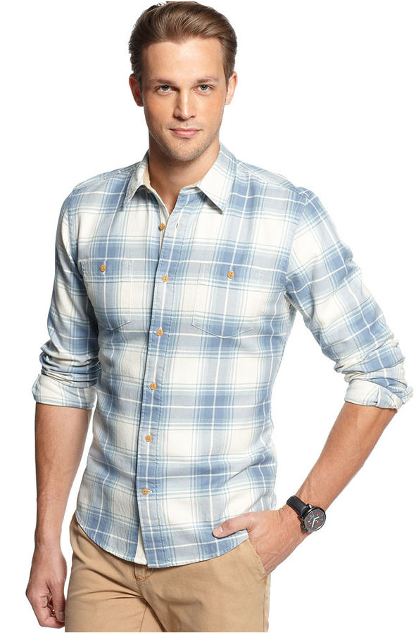 dd3831c50924 ... Tommy Hilfiger Slim Fit Baver Plaid Shirt