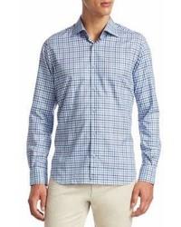 Saks Fifth Avenue Collection Cotton Button Down Shirt