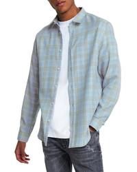 River Island Pow Check Button Up Shirt