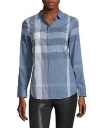 Burberry Explode Checked Shirt