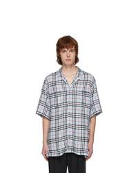 Burberry Blue Check Raymouth Shirt