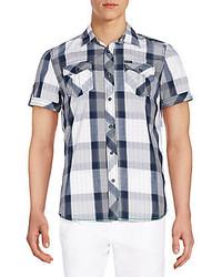 1c1d3fd69e Sijamzat Short Sleeve Denim Woven Out of stock · Buffalo David Bitton  Sorion Plaid Short Sleeve Shirt