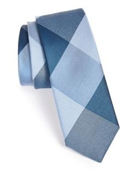 The Tie Bar Bison Silk Plaid Tie