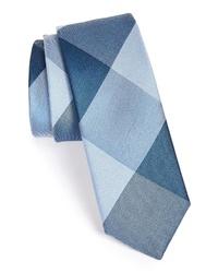 The Tie Bar Bison Silk Plaid Tie