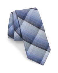Nordstrom Men's Shop Seeley Plaid Silk Cotton Tie