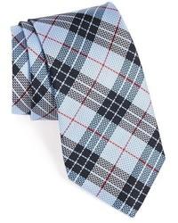 Nordstrom Shop Palazzo Plaid Silk Tie