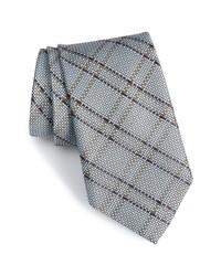 Nordstrom Men's Shop Tasker Plaid Silk Cotton Tie