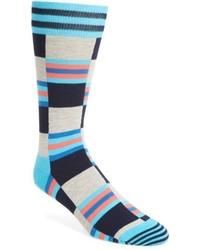 Happy Socks Check Stripe Socks