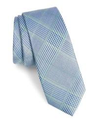 1901 Dante Plaid Silk Tie