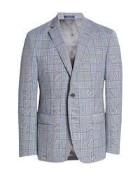 John W. Nordstrom Traditional Fit Glen Plaid Wool Sport Coat