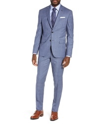 Ted Baker London Fit Plaid Wool Suit