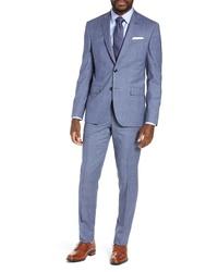 Ted Baker London Fit Plaid Wool Suit