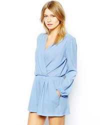 Light Blue Playsuit