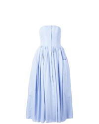 Pleated trim dress medium 7445576