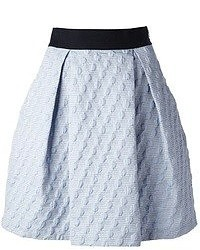Pinko pleated jacquard skirt medium 51624