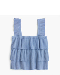 J.Crew Pleated Tank Top