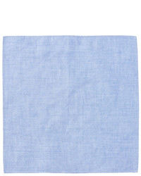 14th Union Chambray Solid Pocket Square