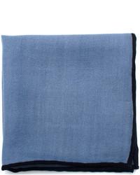 Cufflinks Inc. Light Blue Wool Pocket Square