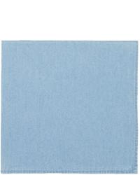 Brunello Cucinelli Striped Linen Cotton Pocket Square