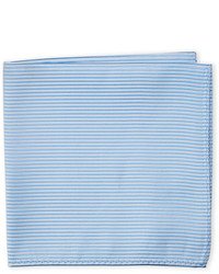 Geoffrey Beene Tonal Ribbed Pocket Square