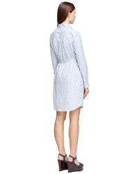 1f07b057930 ... Brooks Brothers Cotton Dot Shirt Dress ...