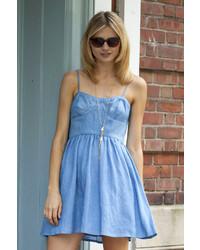 Polka dot chambray dress medium 213036