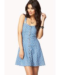 a70cbb8bdec Women s Light Blue Casual Dresses by Forever 21