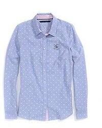 Heritage printed dot shirt medium 212998