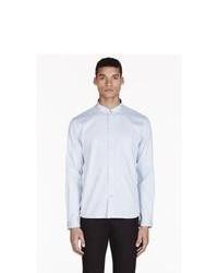 Paul Smith Jeans Sky Blue Polka Dot Shirt