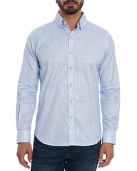 Robert Graham Mydland Dot Print Button Up Shirt