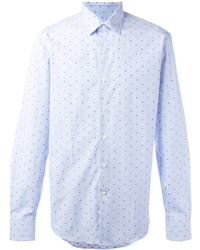 Salvatore Ferragamo Polka Dot Shirt
