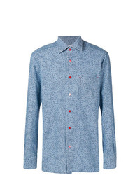 Kiton Polka Dots Shirt