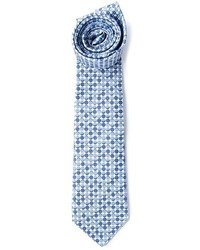 Light Blue Polka Dot Tie