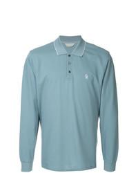 Light Blue Polo Neck Sweater