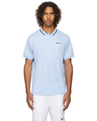 Nike Blue Dri Fit Court Victory Polo