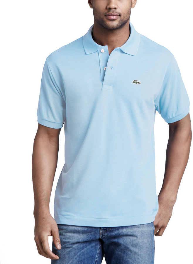 4c70ace802 Lacoste Classic Pique Polo Light Blue, $89 | Neiman Marcus ...