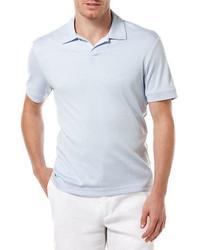 Perry Ellis Open Collar Knit Polo Shirt