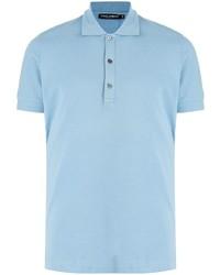 Dolce & Gabbana Short Sleeve Cotton Polo Shirt
