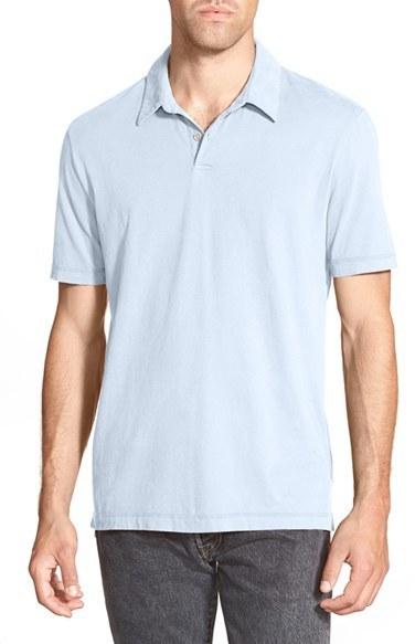 a01a1c810ca James Perse Slim Fit Sueded Jersey Polo, $95 | Nordstrom | Lookastic.com
