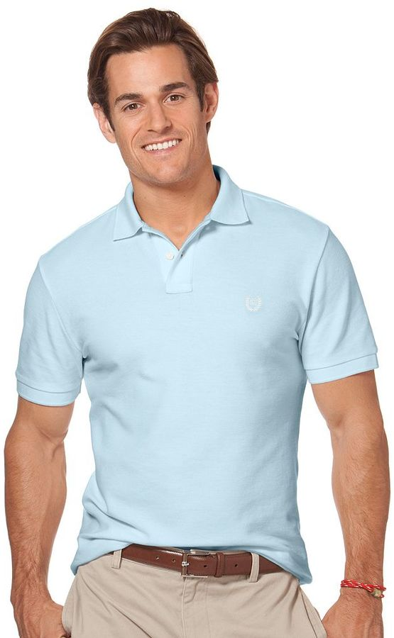 2c6f97955 Chaps Solid Pique Polo, $19   Kohl's   Lookastic.com